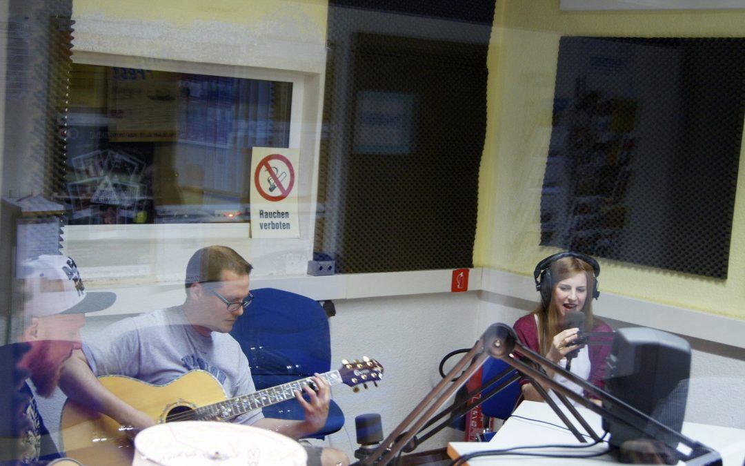 Radiointerview statt Gesangsunterricht