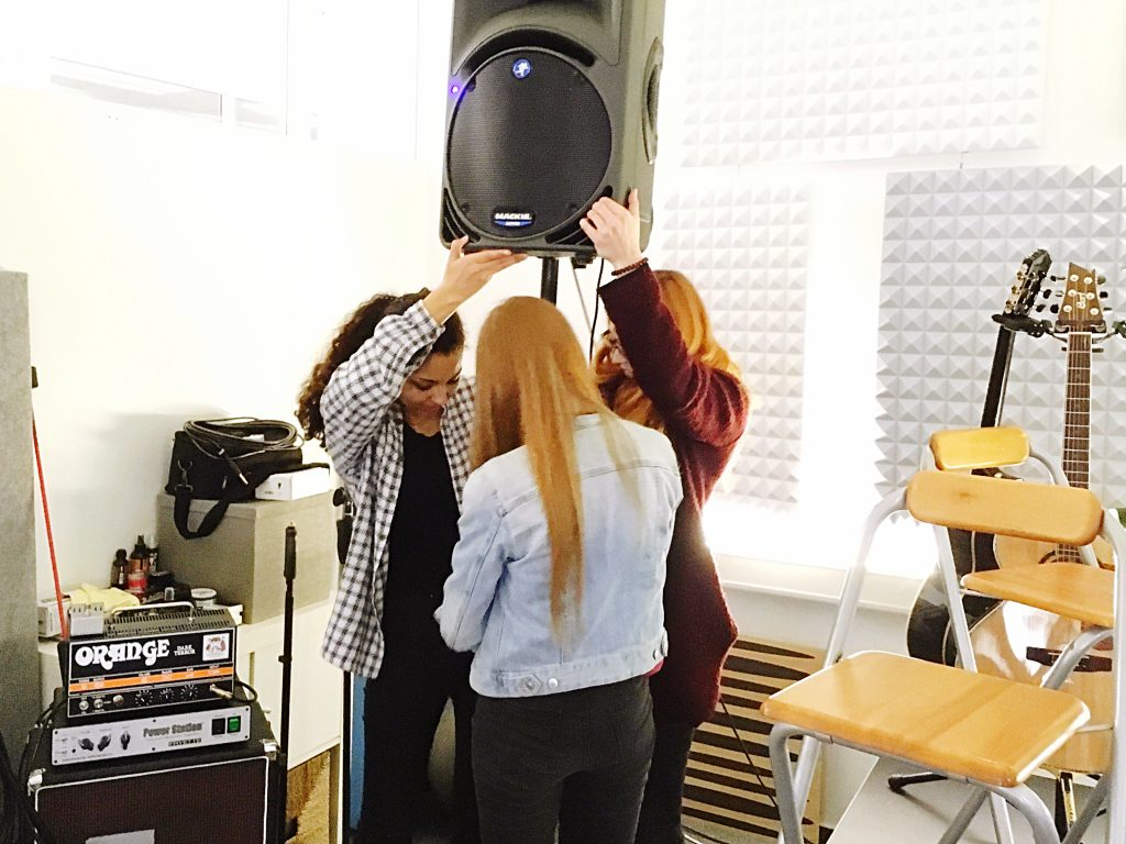 Stimmenwerk Teamleistung auf Konzerten