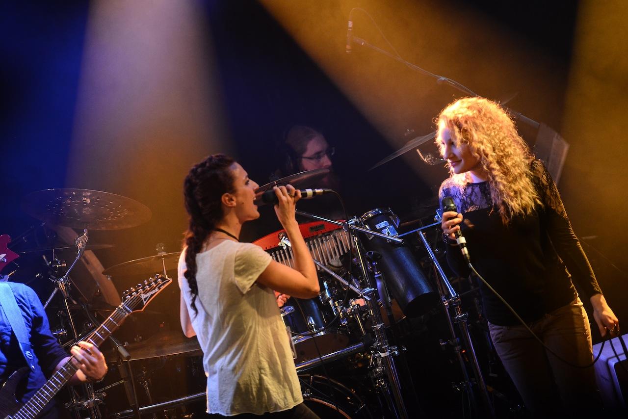 Rhythmus auf der Bühne