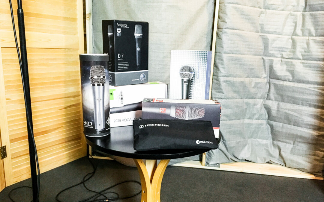 Live-Mikrofone im Test